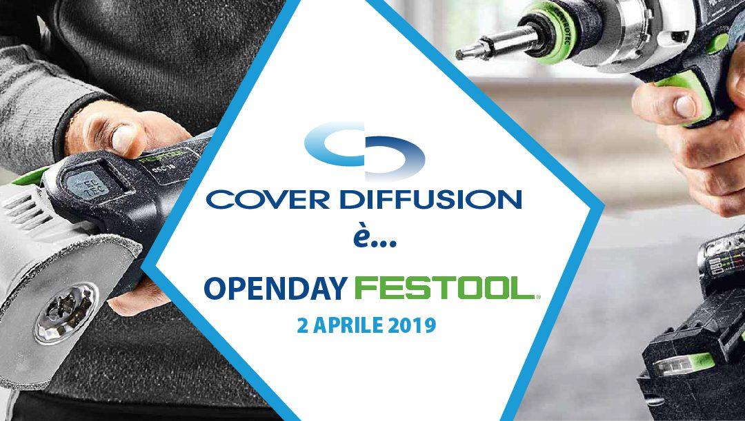 Open Day FESTOOL 2 aprile
