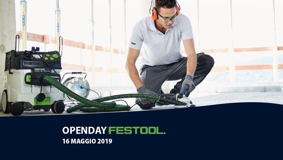 Open Day FESTOOL 16 MAGGIO