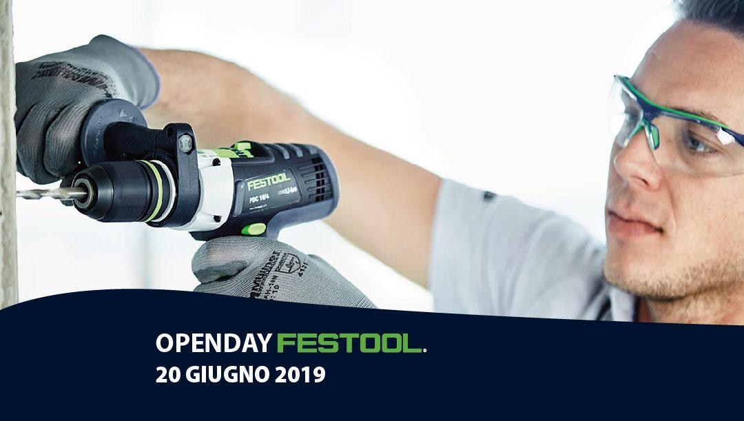Open Day FESTOOL 20 GIUGNO