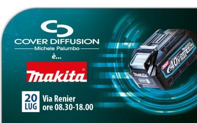 Cover Diffusion è Makita serie XGT 40V