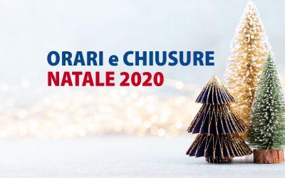 Orario e chiusure Natale 2020