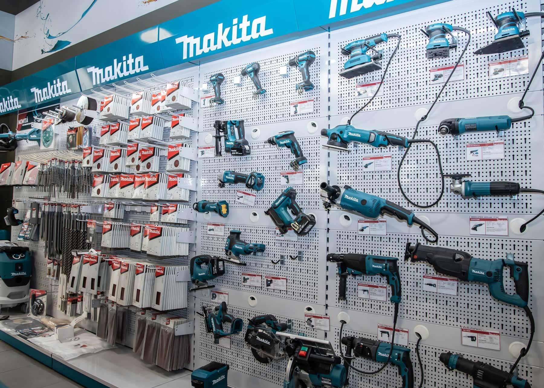 Makita utensili e accessori a Torino