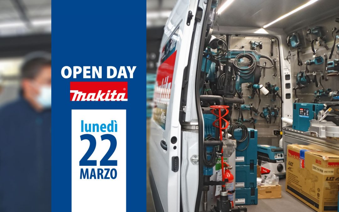 Open Day Makita 22 marzo 2021