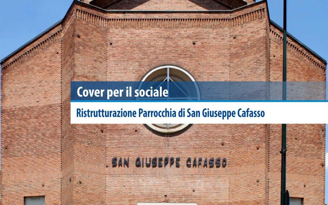 Cover per il sociale: Ristrutturazione Parrocchia di San Giuseppe Cafasso