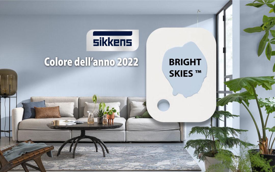 Bright Skies: Colore dell'anno 2022